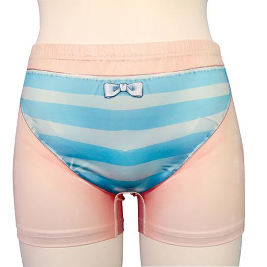 Striped Panties Pattern Boxer Briefs