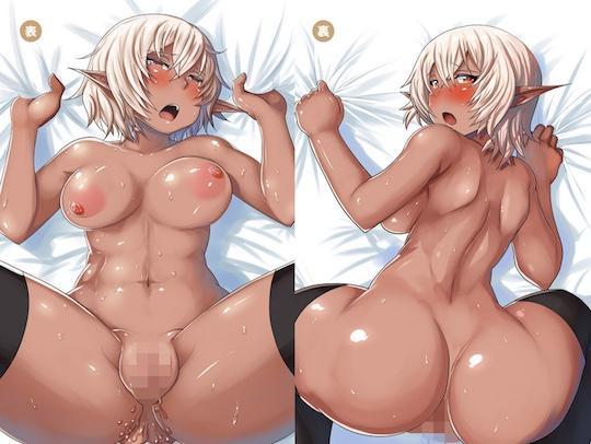 Insert Air Pillow Erotic Anime Pillow Cover #61 Gyaru Anime Idol