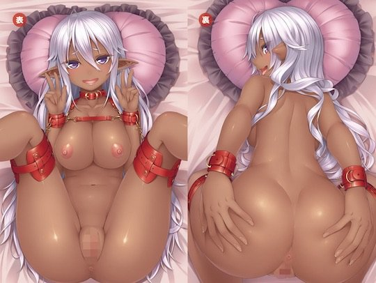Insert Air Pillow Erotic Anime Pillow Cover #49 Gyaru Idol