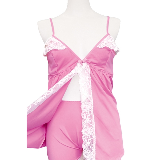 Otoko no Ko Crossdresser Cosplay Satin Camisole Lavender