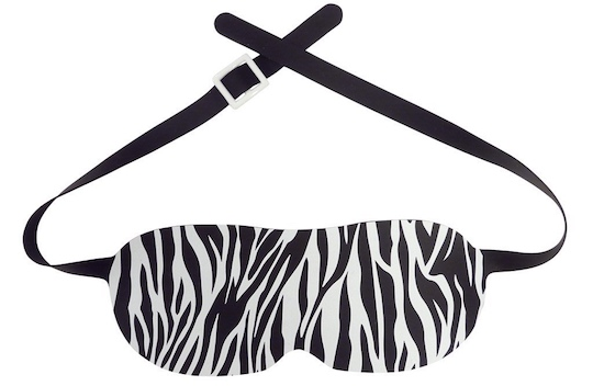 Silicone Zebra Eye Mask