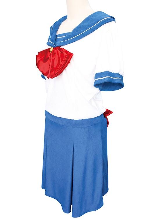 Otoko no Ko Pile Fabric Sailor Pajamas for Crossdressers