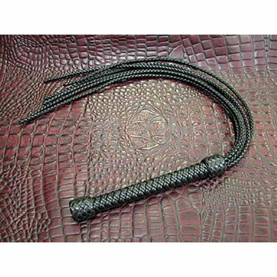 Braided Leather BDSM Flogger