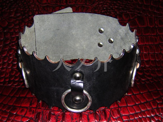 Leather Bondage Slave Collar