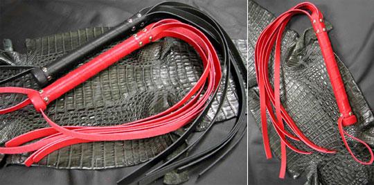 Leather Flogging Strap Whip