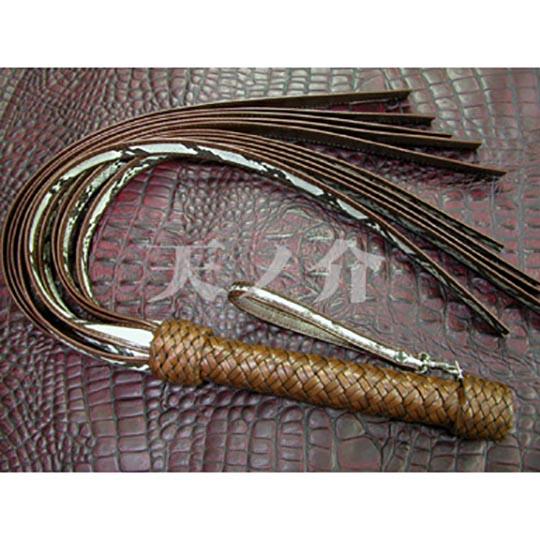 Snake Whip Tasseled Flogger