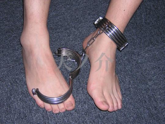 Steel Ankle Cuff Restraints
