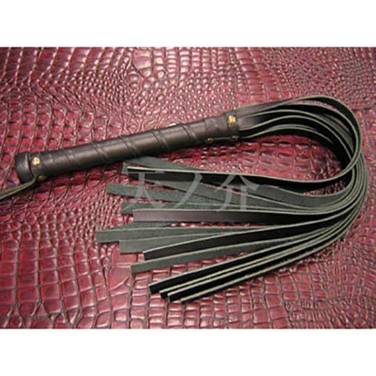 Tennosuke 15-Strand Leather Whip