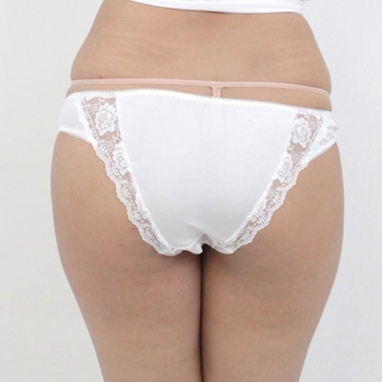 Two-Way Stretchy Lace Open-Crotch Panties