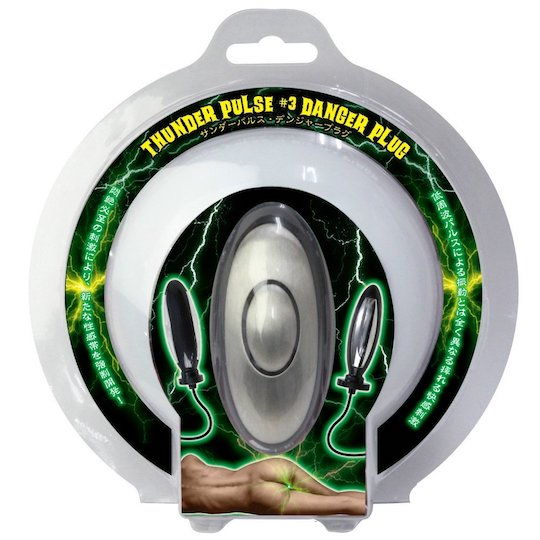 Thunder Pulse 3 Danger Anal Plug Vibrator