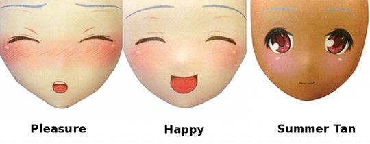 Usahane Air Doll Face Mask