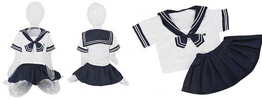 Usahane Air Doll Schoolgirl Sailor Uniform Costume