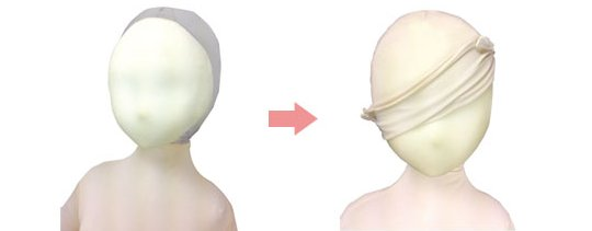 Usahane Air Doll Face Mask