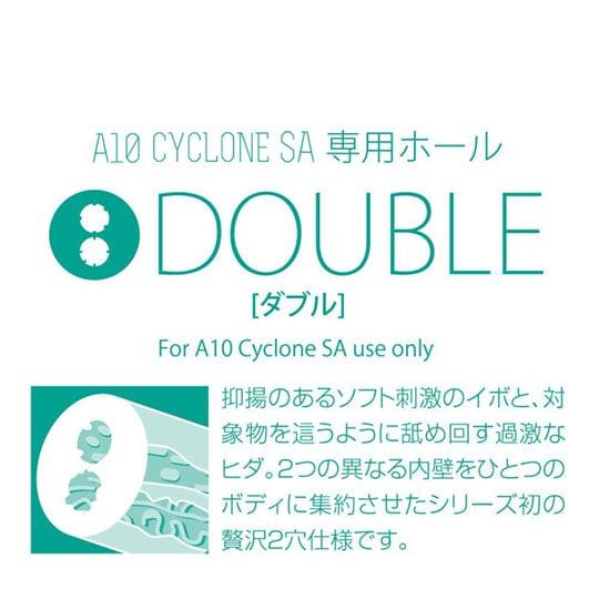 A10サイクロンSA専用ホール ダブル