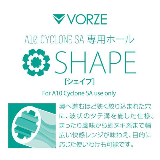 Vorze A10 Cyclone SA Shape