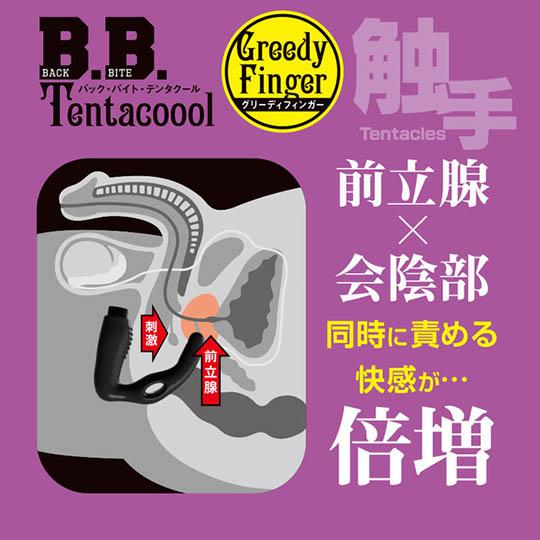 B.B. Tentacool Greedy Finger Butt Plug