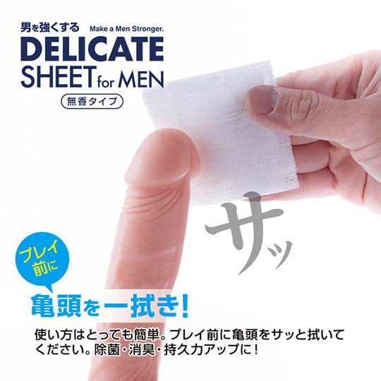 Delicate Sheet for Men