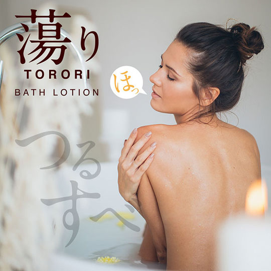 Torori Bath Lotion Rose Scent Lube